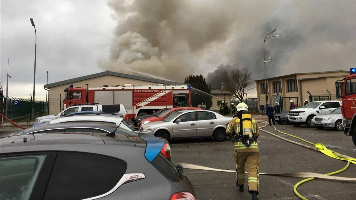 Almenys un mort per una explosió en una planta de gas a Àustria