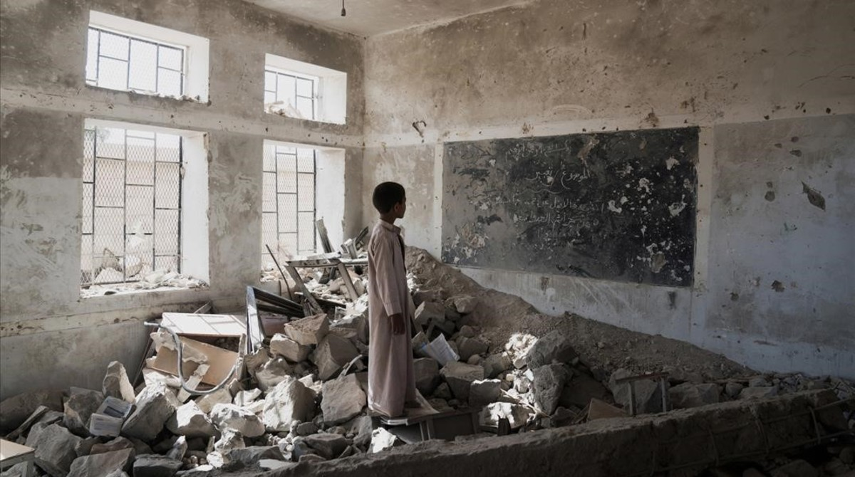 El 2017, l'any més cruel per als nens en països en guerra