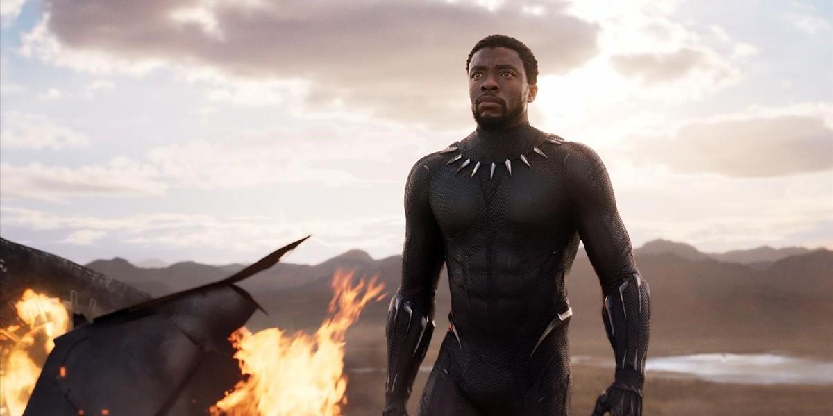 Chadwick Boseman, protagonista de 'Black Panther'.