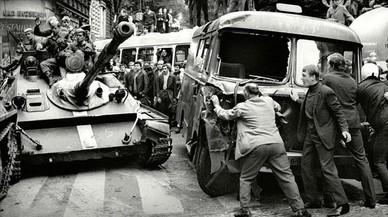 Primavera de Praga: represión, inmolaciones y exilio