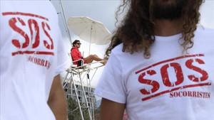 «Som els de la verema de la platja, però a més hem de salvar vides»