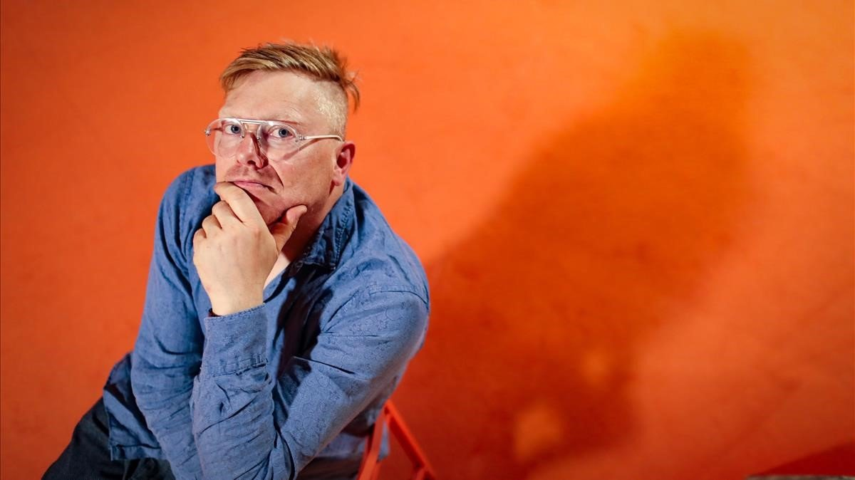 El cómico y exalcalde de Rekiavik, Jón Gnarr, en el Serielizados Fest.