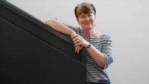 La británica Fiona Burton, autora de La madre, el pasado miércoles en Madrid.