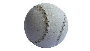 Una pelota vasca: núcleo de madera, hilo de oveja latxa y dos piezas de piel con forma de 8.