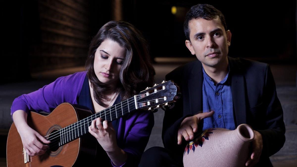 Ljubica Bukvic y Yehosuá Escobedo darán un concierto en el Centre Cívic Urgell el próximo jueves, 13.