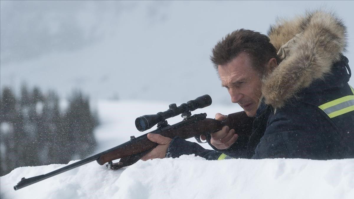 Liam Neeson, en la película Venganza bajo cero.