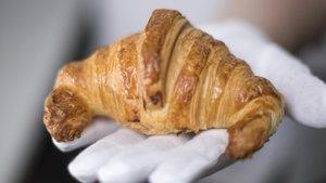 El cruasán con cuernos de la pastelería Escribà.