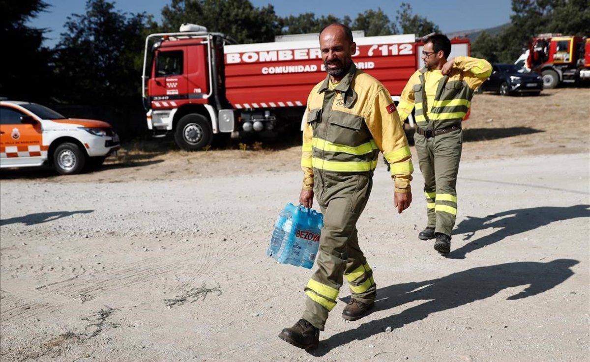 El pico de calor dispara hoy y el lunes el riesgo de incendios en Catalunya