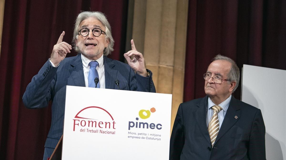 Foment i Pimec avisen que el 70% del petit comerç pot acabar tancant si no hi ha moratòria fiscal