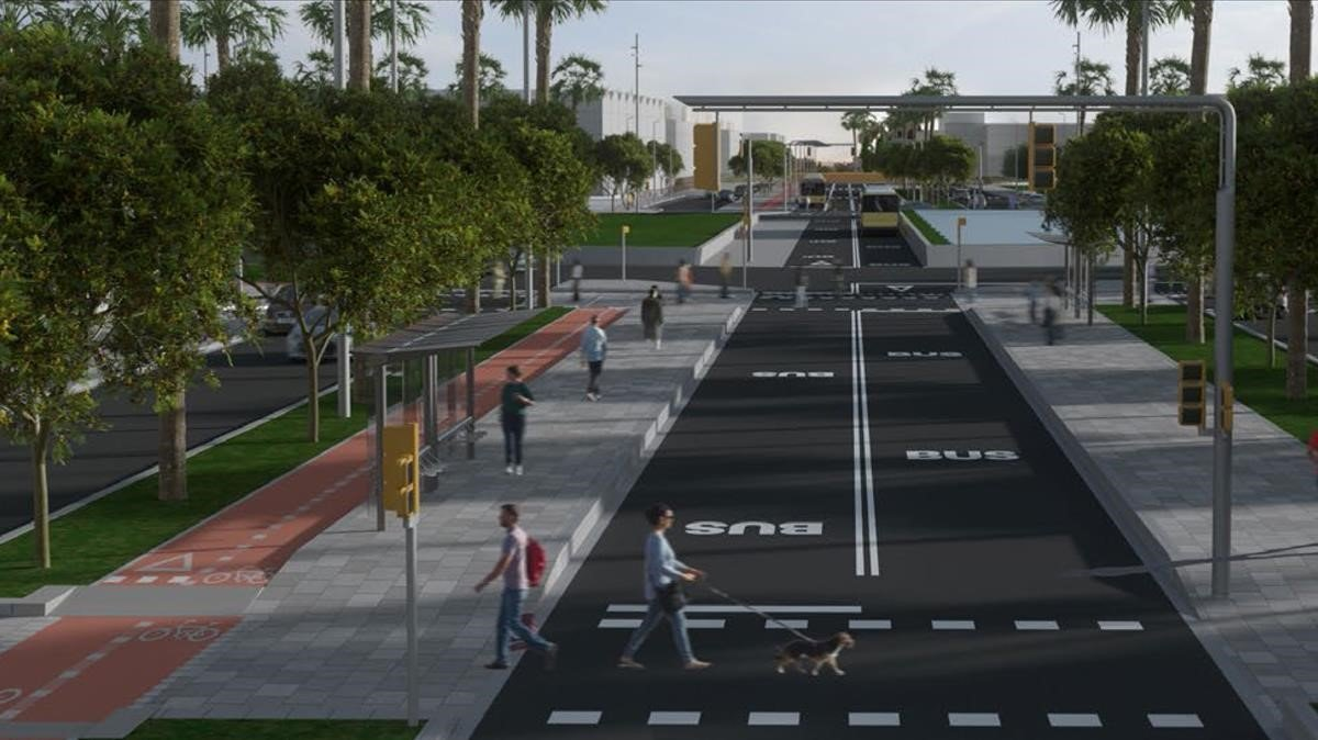Un carrer de 13 quilòmetres unirà cinc municipis de Barcelona