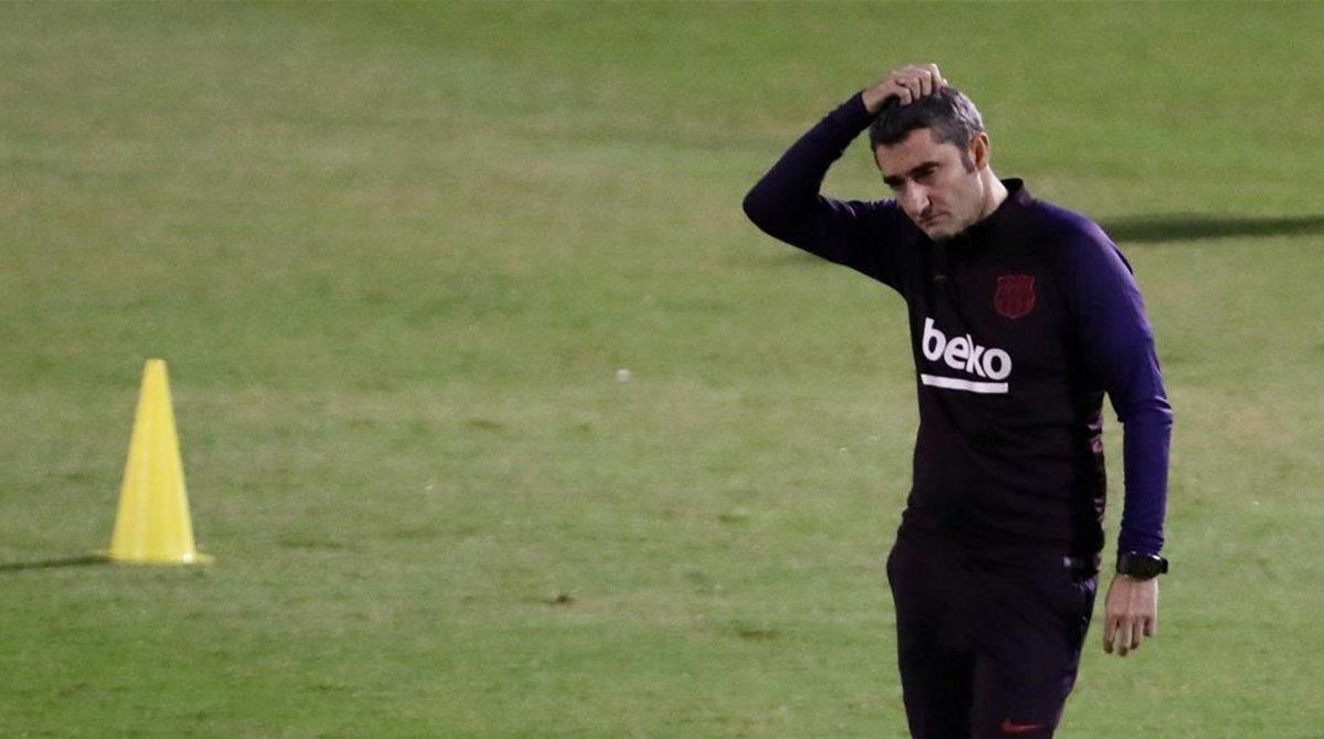 L'acomiadament de Valverde al Barça