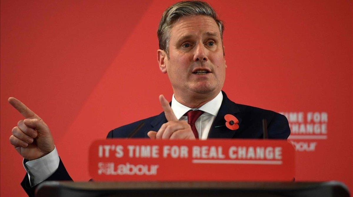 Keir Starmer, en un acto del Partido Laborista, en noviembre pasado.