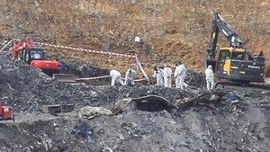 Identificat un dels cadàvers de l'abocador de Zaldibar