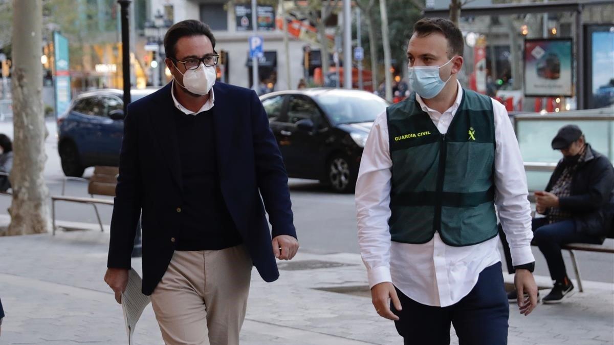 Cop a l'entorn de Puigdemont
