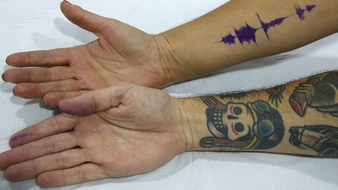 Tatuajes De Sonido El Arte De Grabar Música En La Piel