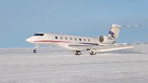 Un vol comercial xinès aterra per primera vegada a lAntàrtida