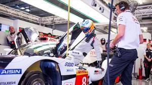 Alonso tiene grandes expectativas con el Toyota, en Le Mans