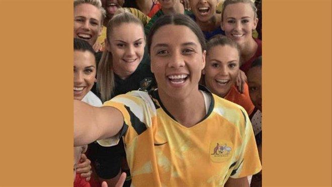 Sam Kerr, una de las mejores jugadores de la Copa Mundial femenina 2019
