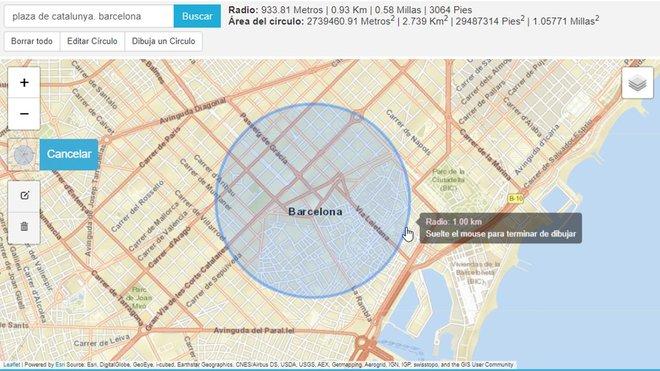 Cómo medir un kilómetro en el mapa para salir a pasear con los niños