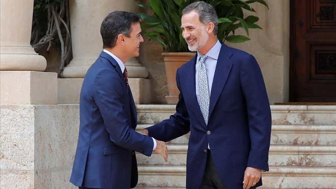 Sánchez es carrega d'arguments contra una coalició amb Iglesias