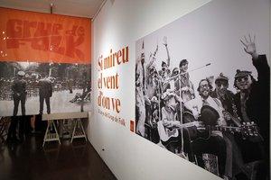 Imagen de la entrada a la exposición.