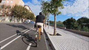 En total, se construirán 10 nuevos tramos de carriles bici segregados del tráfico motorizado en Mataró.
