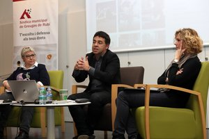 Rubí presenta el projecte del Pla de Drets Humans de Catalunya