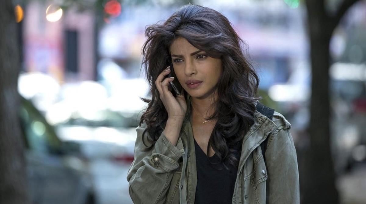 La actriz Priyanka Chopra, en la serie 'Quantico'.