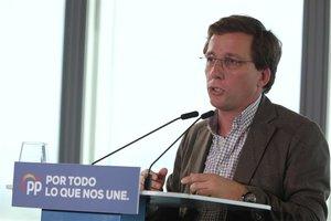 Alcalde de Madrid, José Luis Martínez-Almeida.