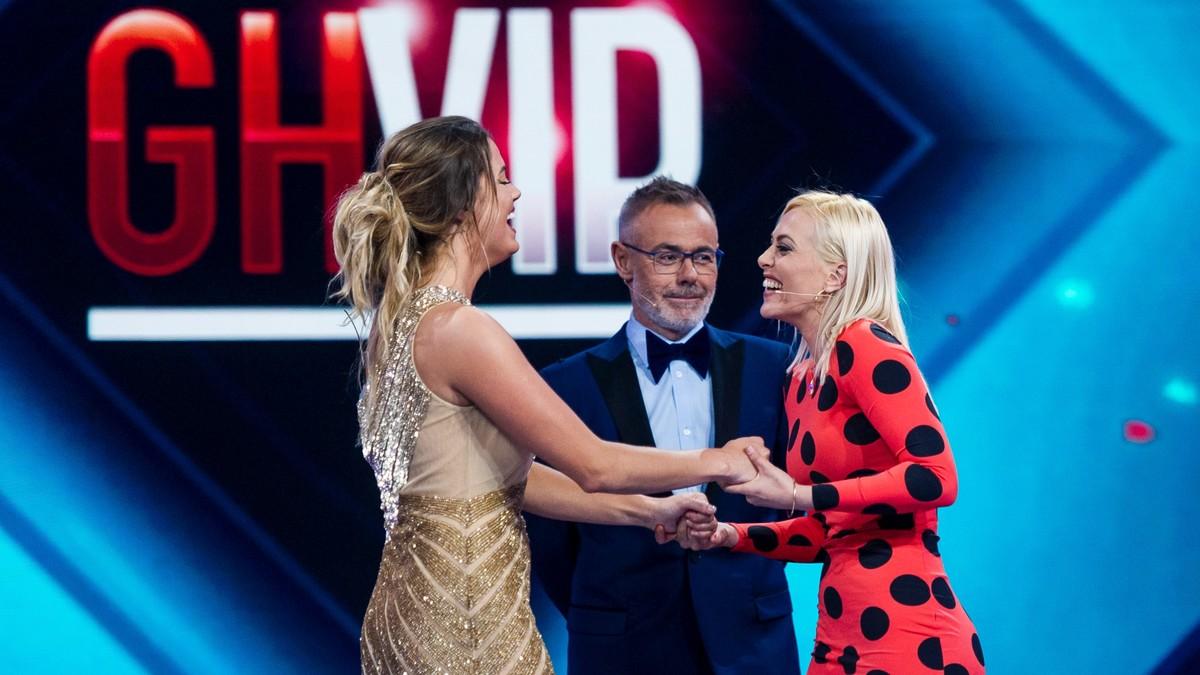 Alyson Eckman, Jordi González y Daniela Blume en la gran final de GH VIP 5