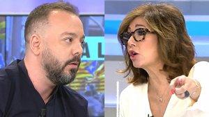 """Antonio Maestre se enfrenta a Ana Rosa por el conflicto en Catalunya: """"Yo sí estoy en la calle, tú no"""""""