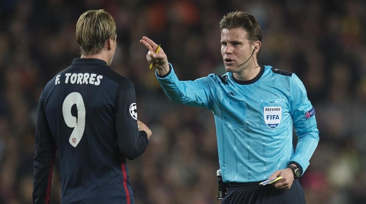 El alemán Brych pitará la final de la Champions entre Juventus y Madri
