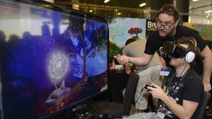Asistentes al Gamelab, el congreso de videojuegos, en Barcelona.