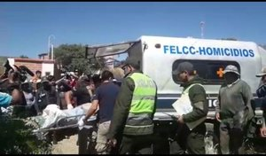 Asesinato de un niño en Bolivia.