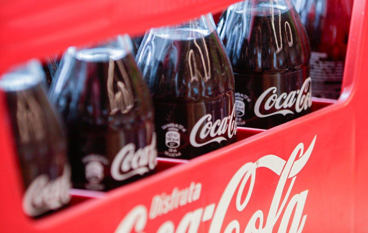 Botellas de Coca-Cola que han sido elaboradas a partir de los principios del ecodiseño.