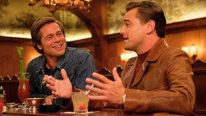 Brad Pitt y Leonardo DiCaprio en 'Érase una vez... en Hollywood'.