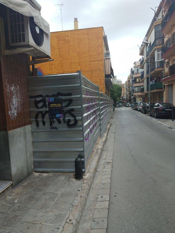 Vorera perillosa a Castelldefels: A què espera l'Ajuntament?