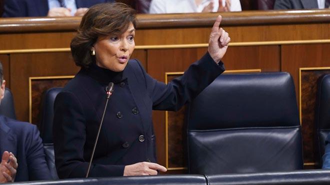 Calvo recolza l'entrada de Iglesias a la comissió del CNI pel seu rang de vicepresident