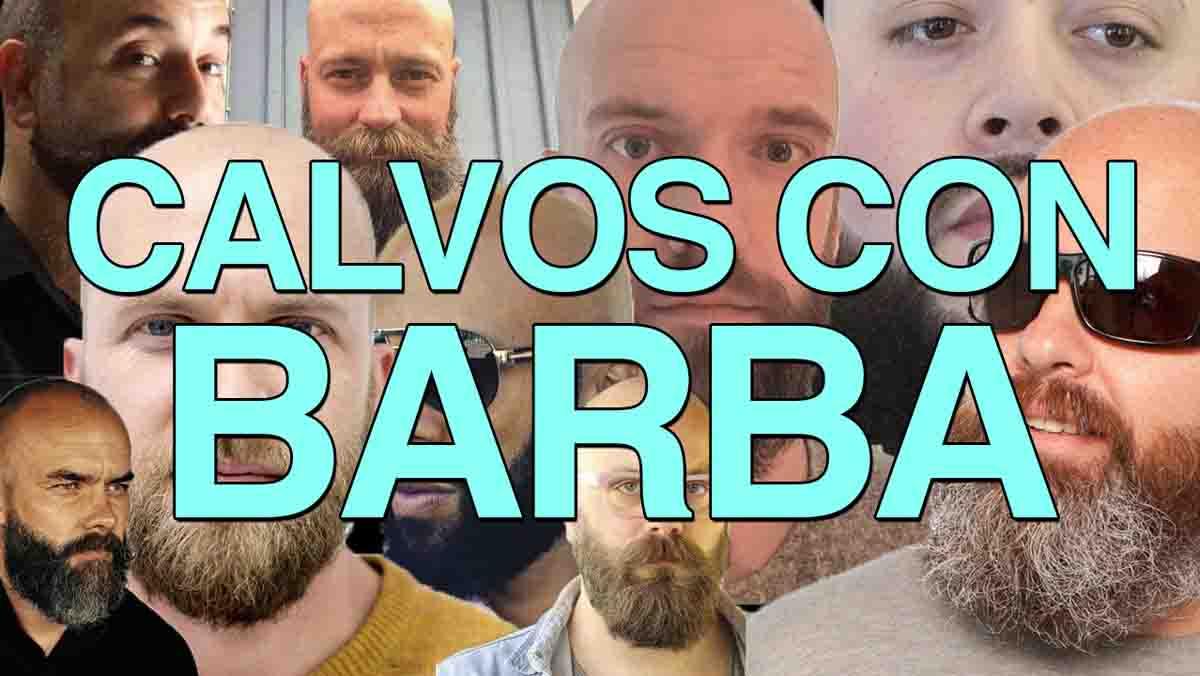 La tribu urbana de los calvos con barba se ha dado cita en un foro para darse a conocer.