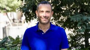 Carlos Elías, catedrático de Periodismo en la Universidad Carlos III de Madrid, durante la entrevista con EL PERIÓDICO.