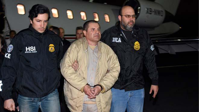 El Chapo afronta en Nueva York el juicio que puede costarle la cadena perpetua.