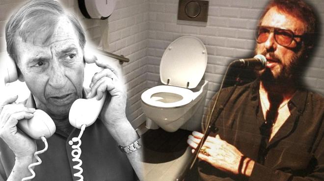La última moda: ir al baño a escuchar chistes