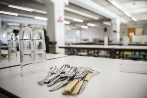 Imagen de un comedor escolar.