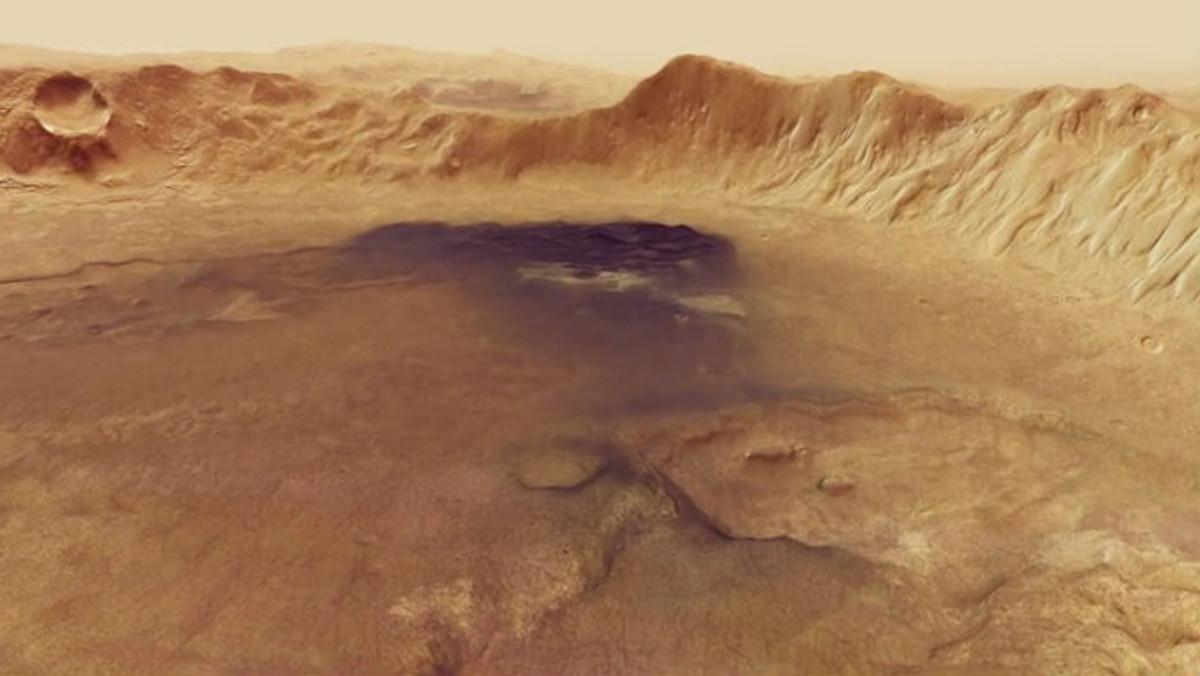 El cráter Neukum