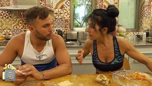 Cristian Suescun y Maite Galdeano en 'La casa fuerte'.