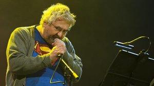 Actuación de Daniel Johnston en el Auditori del Fòrum, en Barcelona, en el 2013.