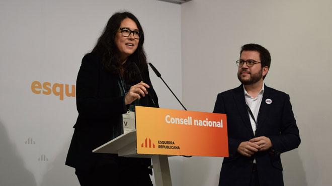 Diana Riba, parella de Romeva, serà la número dos d'ERC a les europees