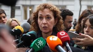 Ester Capella, 'consellera'de Justícia.