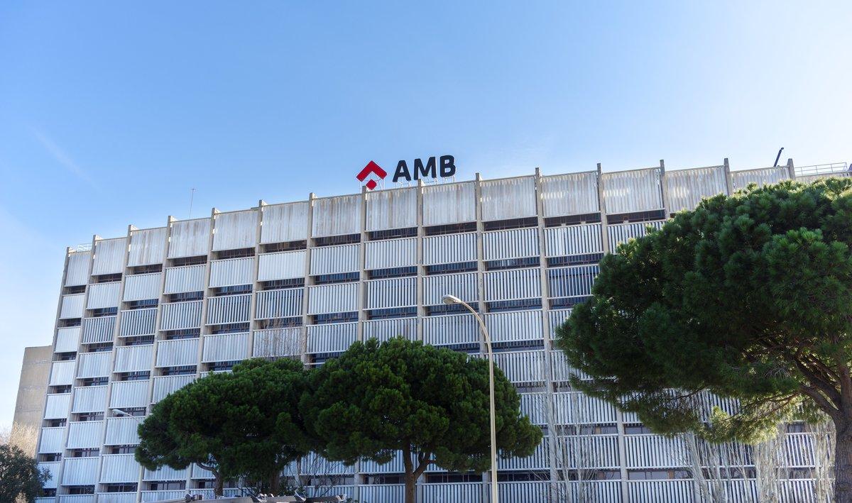 Fachada de las oficinas del AMB.