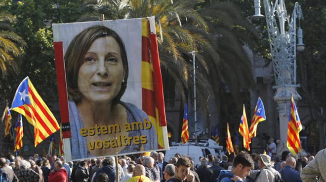 Forcadell exige amparo al TSJC apelando a la inviolabilidad parlamentaria